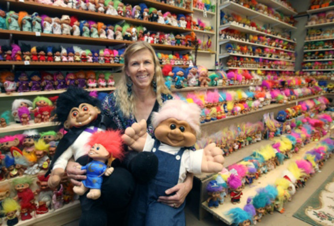 Sherry Has 18,000 Troll Dolls