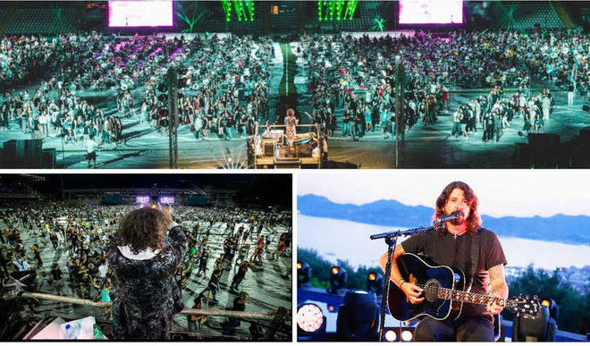 1200 Musicians Pay Tribute To Nirvana