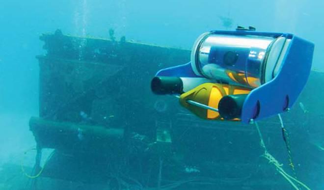 IIT-I Designs Smart Underwater Robot