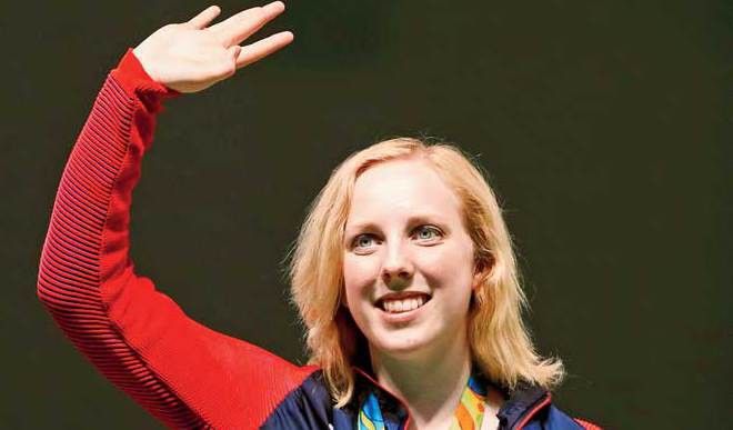 First Gold Medal Goes To A teen