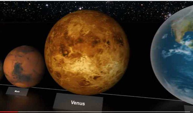 Video: Size Comparison of Different Stars and Planets
