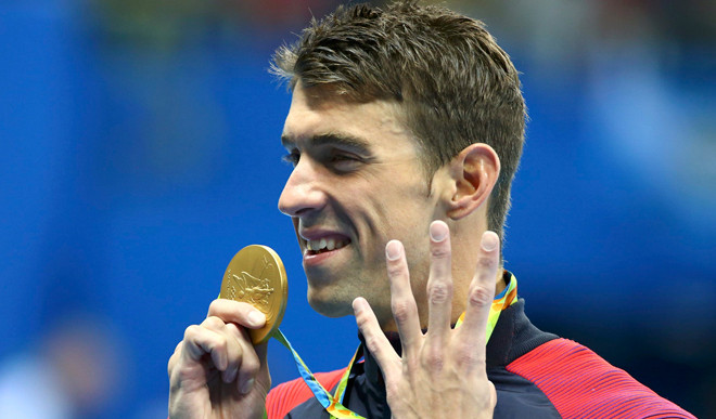 Phelps Wins 22nd Gold