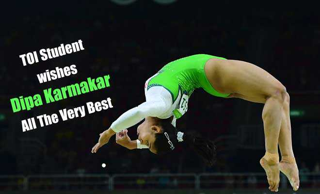 Send Your Best Of Luck Wishes For Dipa Karmakar