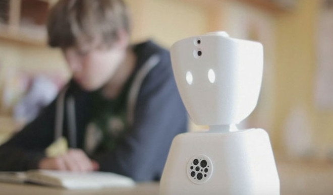 Sick? Let This Robot  Attend The School
