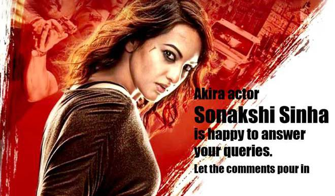 You Ask, Sonakshi Sinha Answers