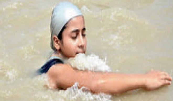 Girl, 11, To Swim 550km For Clean Ganga