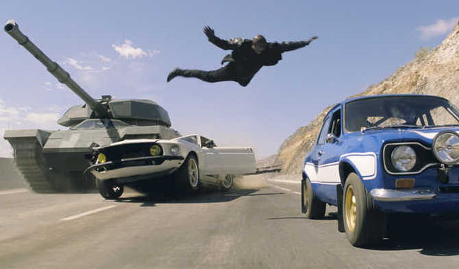 Films With Maximum Car Wrecks