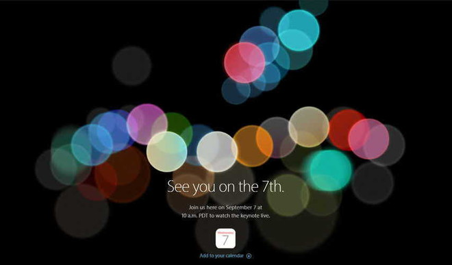 iPhone 7 Launch On Sept 7