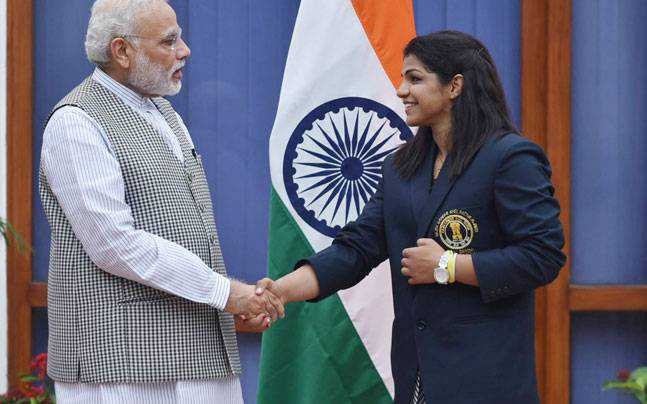 "Jab They Met, PM Asked Sakshi-  ""Maarogi To Nahi"""