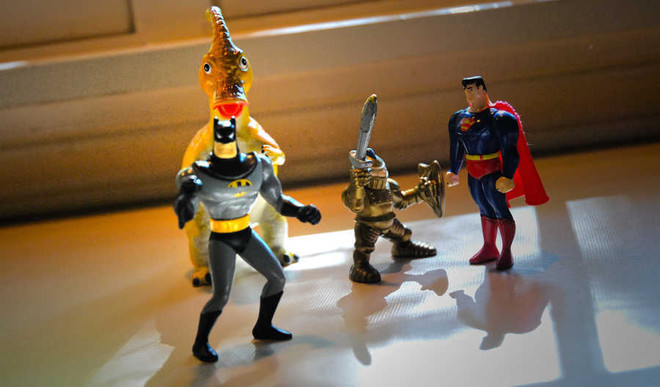 Does Size Of Super Hero Matter? YOUR say