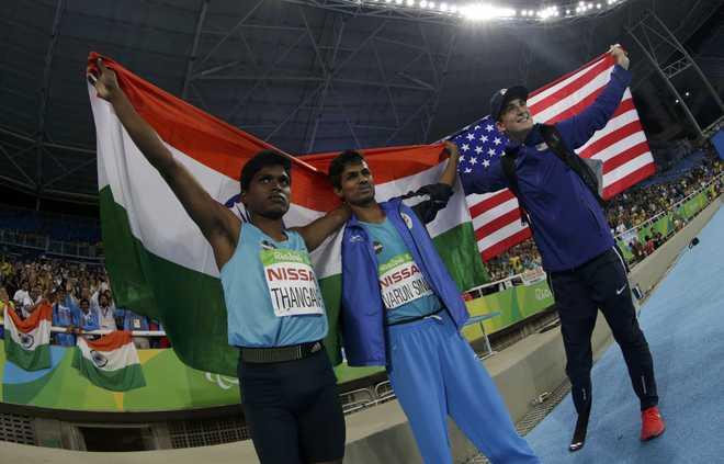 Thagavelu Wins Gold, Bhati Bronze in Rio Paralympics