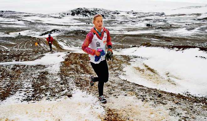Vinecki,17-Year-Old-Antarctica Runner