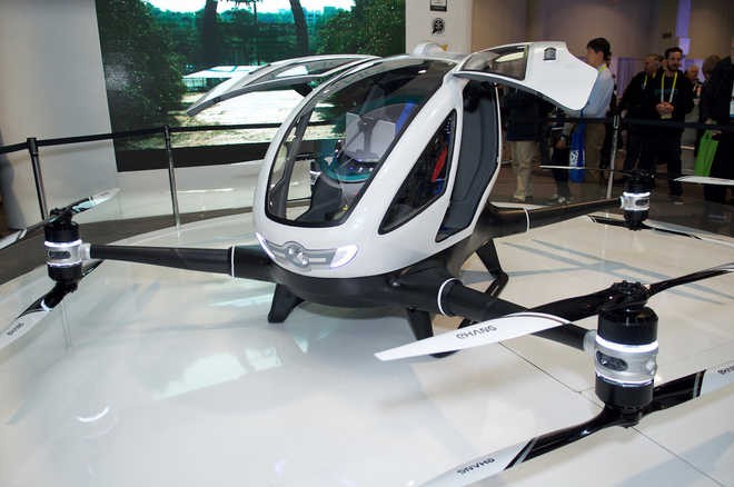 The World's First Passenger Drone