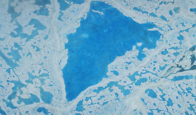 Arctic Sea Ice Melts To Record Lowest