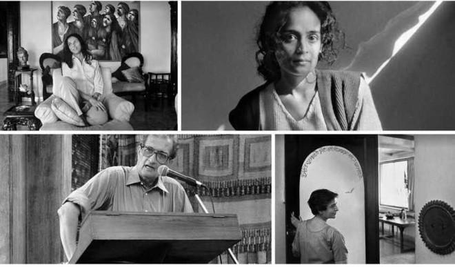 Powerful Author Portraits By Raghu Rai