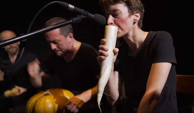 Vegetable Orchestra: Making Music With Food