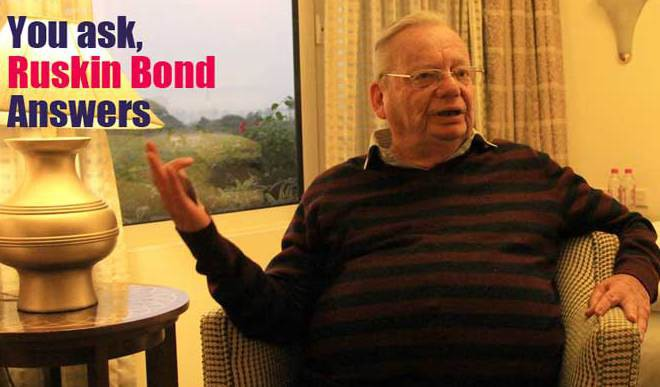 Author Ruskin Bond Wants To Hear From You