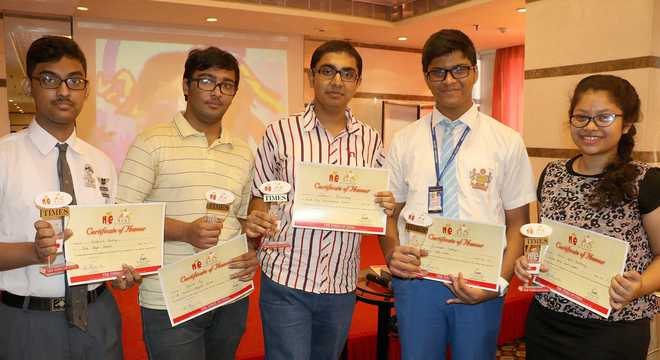 Budding scribes get a taste of journalism at Newsmakers' Meet