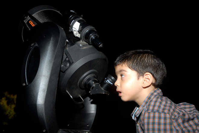 Astronomy Night At Suryashibir