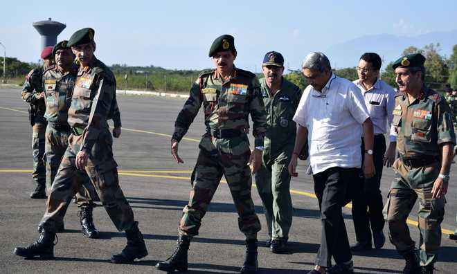Sacrifice of Jawans Won't Go In Vain: Parrikar