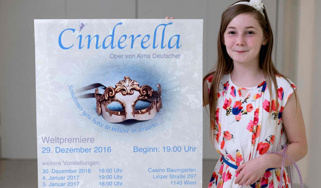 11-Year-Old Girl's Cinderella Opera