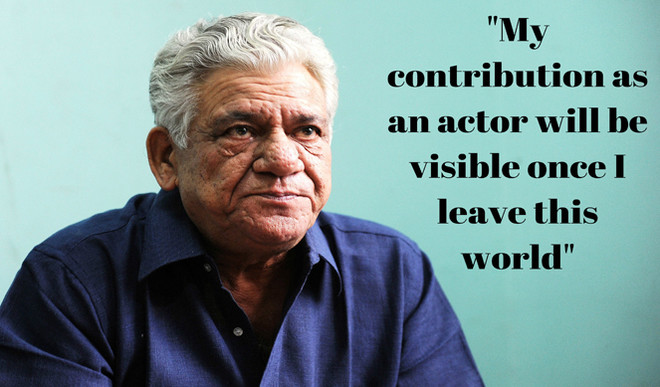 What Om Puri Said In His Last Interview