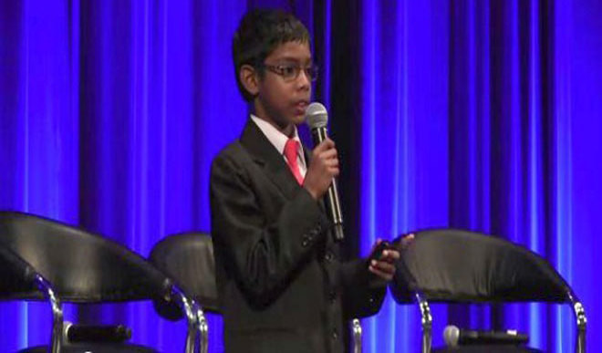 Kid Lectures On Cyber Security