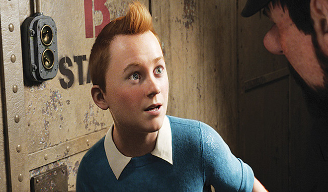 Tintin Takes On The Russians...