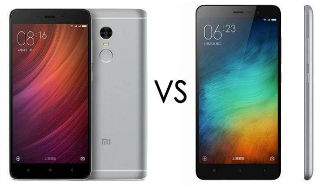 Redmi Note 4 vs Redmi Note 3