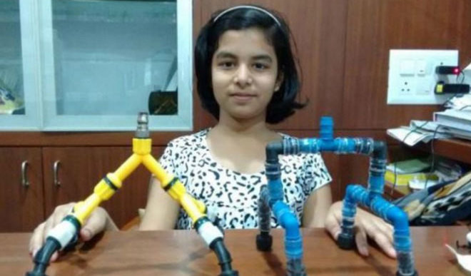 Kid Innovates To Save Water