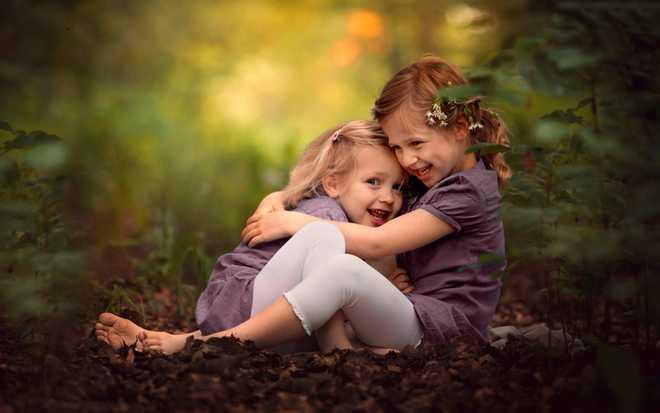 Megha On Her Sister