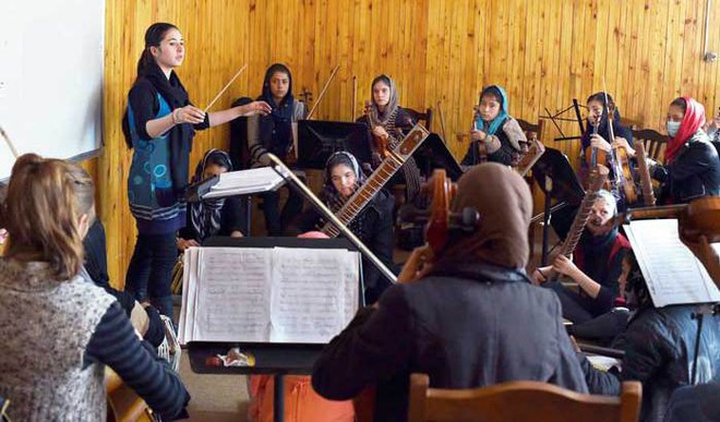 Afghanistan's first all-female orchestra is charting a new destiny for itself