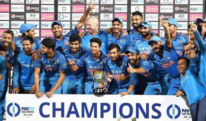 India Regain Top Spot In ODIs