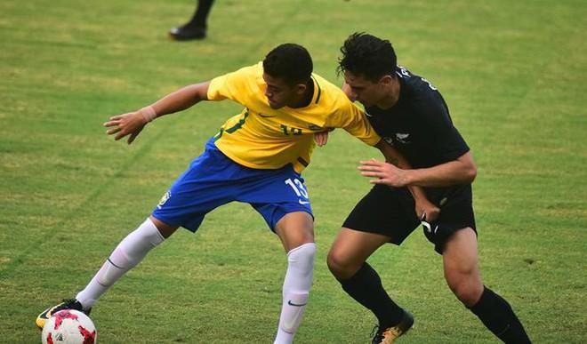 FIFA U 17: Brazil Win Clash Of Little Titans