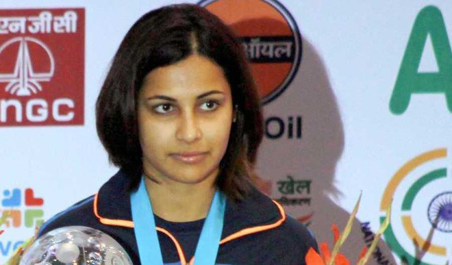 Heena Sidhu Clinches Gold Medal