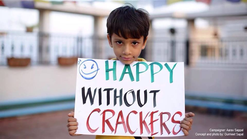 Ritvik Baweja: Will Your Diwali Be Crackers Free?