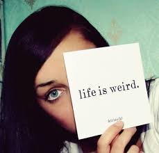 Jomili John's Poem 'Life Is Weird'