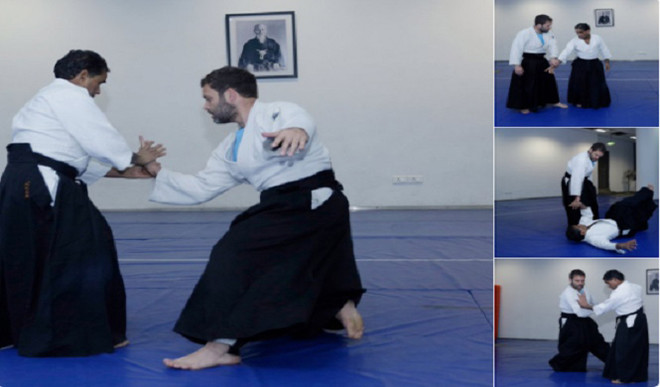 Check Out The Aikido Moves Of Rahul Gandhi