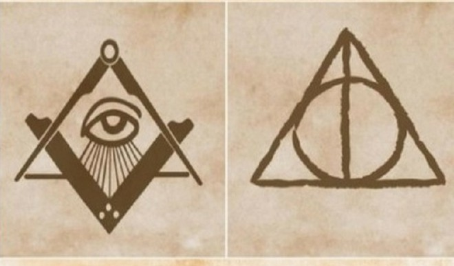 What Inspired The Deathly Hallows Symbol