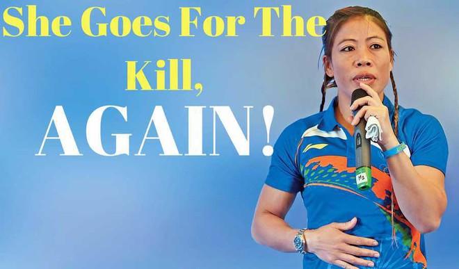 Mary Kom Strikes Gold At Asian Championships