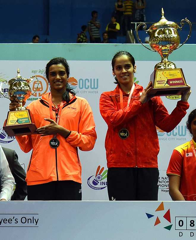 Saina Trumps Sindhu For Nationals Title