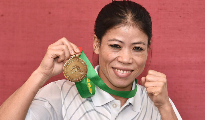 If 100 Percent Fit, Nobody Can Beat Be: Mary Kom