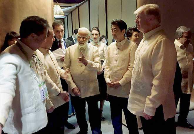 Modi Attends 31st Asean Summit