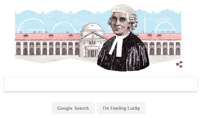 Google Honours India's First Woman Advocate