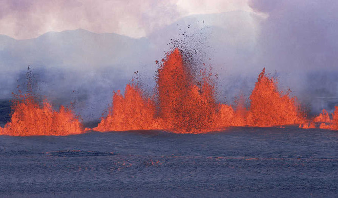 Artificial Volcanoes To Cool Earth?