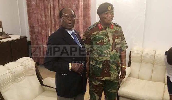 Mugabe Meets Generals, Refuses To Step Down