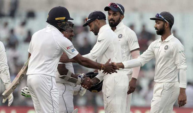 India Sri Lanka Play Thrilling Draw