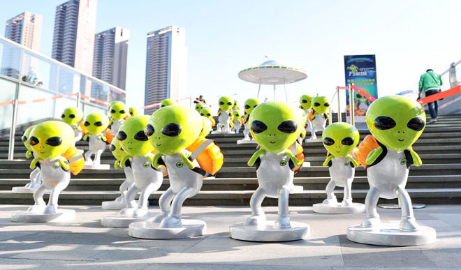 Scientists Send Msg To Contact Aliens