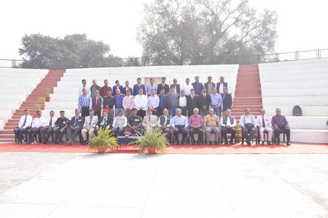 Old Boys Meet at UP Sainik School