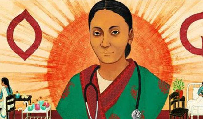 Google Doodles To Rukhmabai Raut